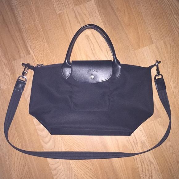 Longchamp Handbags - LONGCHAMP  Small Le Pliage Neo Nylon Top handle 975153ffc4